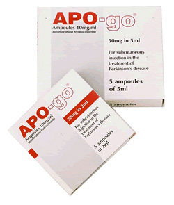 APO-GO AMPUL 50 mg/ 5ml