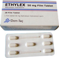 Ethylex 50 mg Film Tablet