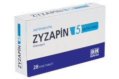 ZYZAPİN 5 mg FİLM TABLET
