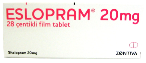Eslopram 20 mg 28 Çentikli Film Tablet