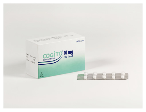 Cogito® 10 mg Film Tablet