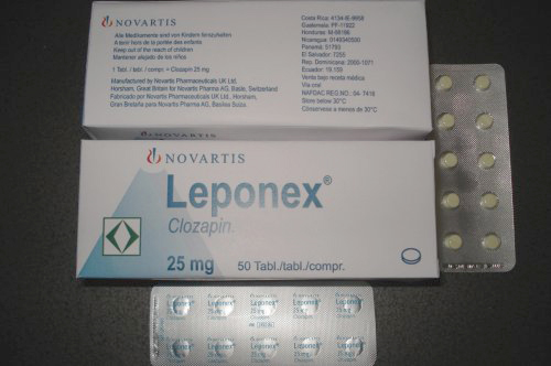 Leponex® 25 mg Tablet