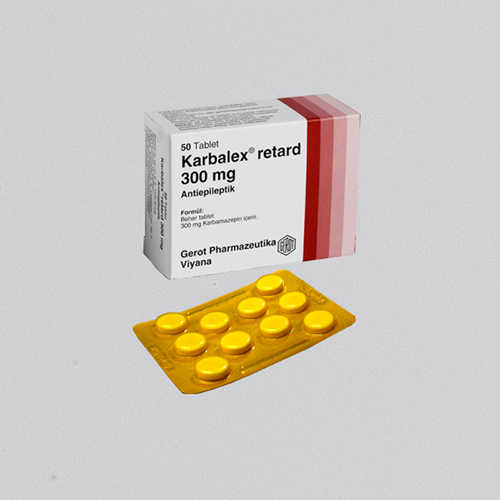 KARBALEX Retard tablet 300 mg