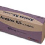 ANSİOX TABLET 0,5 mg
