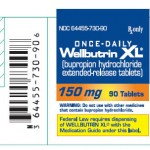 WELLBUTRIN XL 150 mg