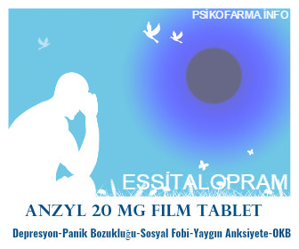 ANZYL 20 mg Film Tablet- KÜB
