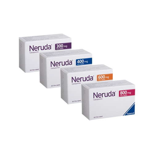 NERUDA 300 mg Film Tablet-KÜB