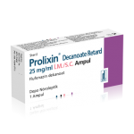 PROLIXIN Decanoate Retard 25 mg/ml IM/SC Ampul-KÜB
