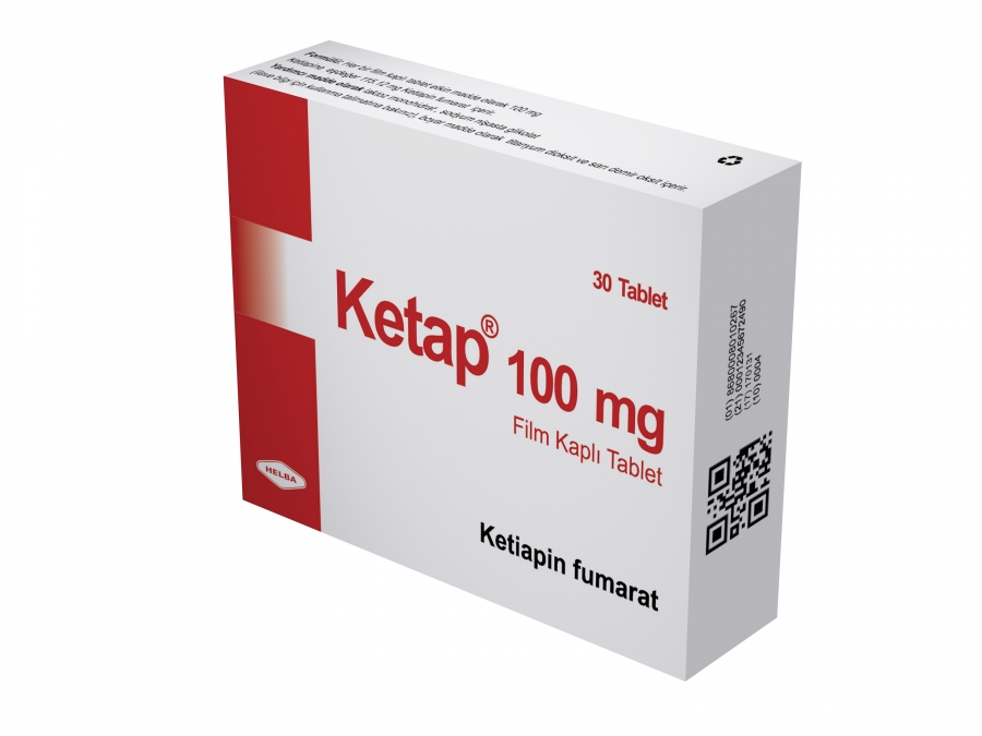 KETAP 100 mg Film Kaplı Tablet