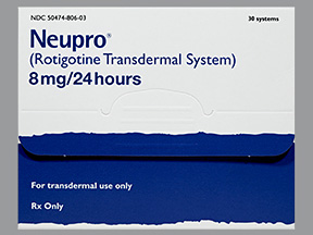 NEUPRO 8 mg Transdermal Flaster